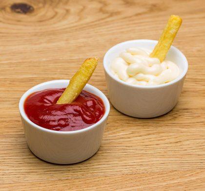 Ketchup and Mayonnaise